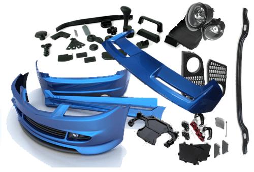 изготовление пластиковых деталей автомобиля для тюнинга