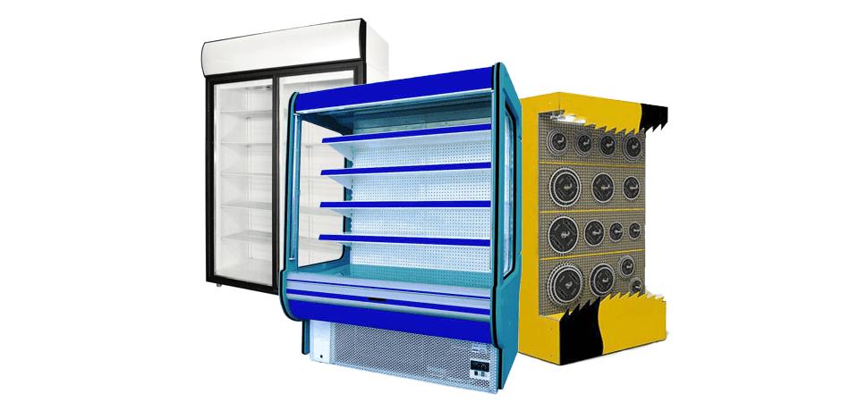 пластиковые корпуса торгового холодильного оборудования и витрин