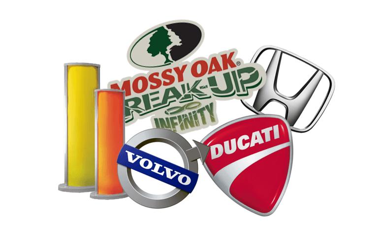 логотипы лайтбоксы из пластика
