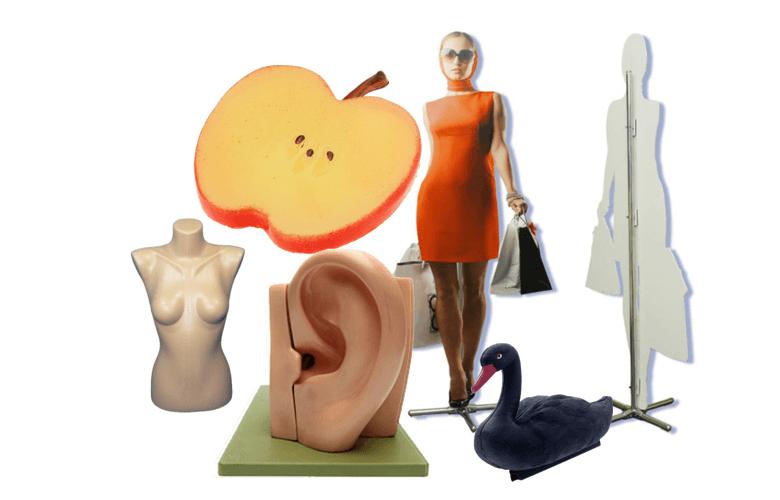 муляжи и манекены из пластика